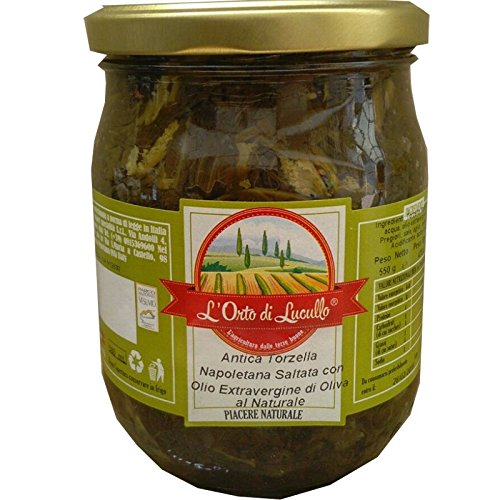 Torzella antigua napolitano salteados en aceite Evoo - Ofrezca 3 piezas
