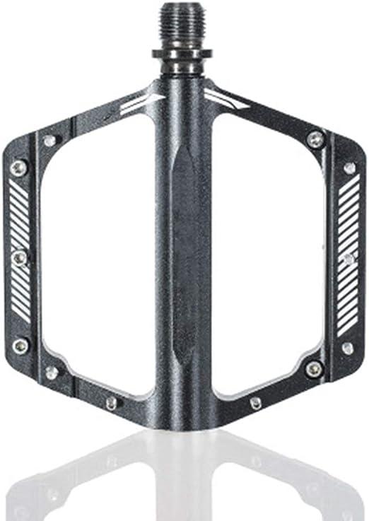 Yaunli Kit de Pedal de la Bicicleta Bicicleta Pedales Plataforma Ligera Camino de la Fibra Bici de montaña Pedales Pedal de la Bicicleta Universal (Color : Black, Size : 120x105x15mm): Amazon.es: Hogar