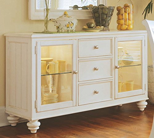 American Drew Sideboard - American Drew Camden China Buffet Credenza in Buttermilk