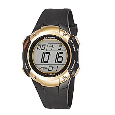 Auspicious beginning Men's Sports Outdoor Luminous Climb Digital Electronic Watch
