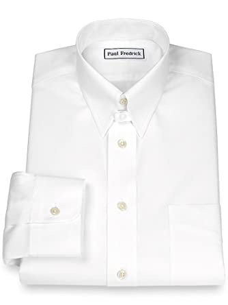 Men's Dress Shirt with White Snaps