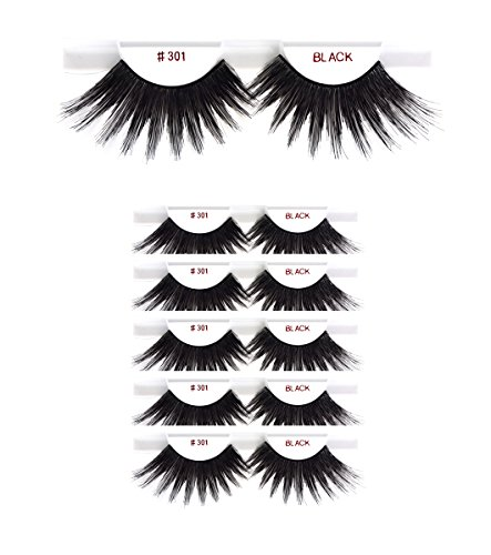 Big Lashes - 6packs Eyelashes - #301 Christina 100% Human Hair Fake Eyelashes