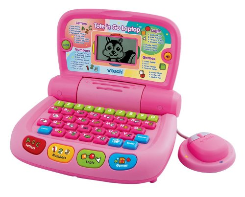 VTech Tote and Go Laptop Pink - 2010 Version
