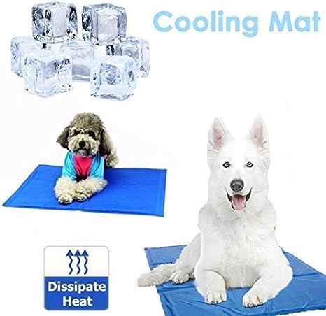WSS - Alfombrilla de refrigeración para Perro, tamaño Mediano, 50 ...