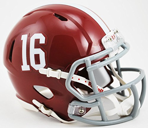 NCAA Alabama Crimson Tide Speed Mini Helmet, Small, Red by Riddell