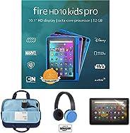 "Fire HD 10 Kids Pro tablet, 10"" HD (Intergalactic) with Kids Headset + Sleeve + Screen Prot"
