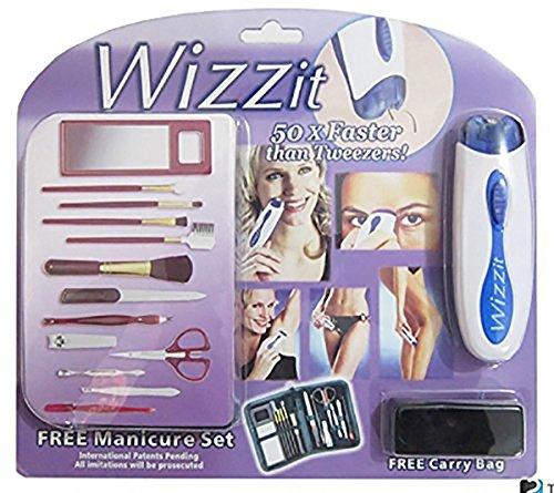 Wizzit - die elektrische Pinzette zur Haarentfernung Erlebnisladen