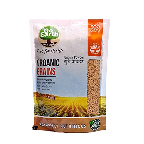 Go Earth Organic Jaggery Powder 500g