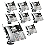 4 phone package - VTech 4-Line Small Business Phone System - Office Bundle with 1 CM18445 Main Console, & 7 CM18245 Desksets