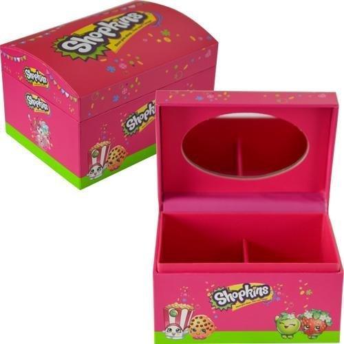 Shopkins Jewelry Box With Mirror 4X3X2.6