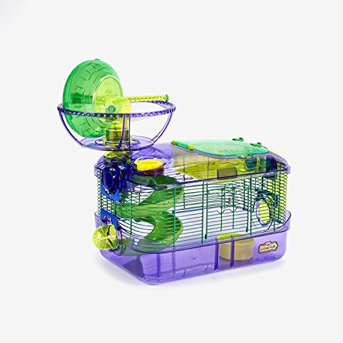 CritterTrail Extreme Challenge Cage, Habitat for Hamsters, Gerbils Or Mice (Hamster Tubes)