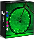 Activ Life LED Wheel Lights (1 Tire, Green) Fun