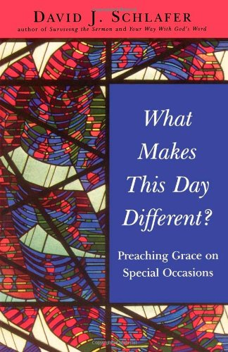 What Makes This Day Different?: Speaking Grace on Special Occasions