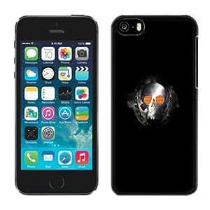 XiFu*MeiBeautiful Custom Designed Cover Case For iPhone 5C With Metal Skull Phone CaseXiFu*Mei