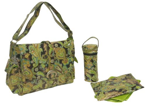 uckle Bag, Multi Paisley Pistachio ()