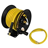 DeWalt DXCM024-0348 3/8' x 50' Manual Hose Reel with Rubber Hose