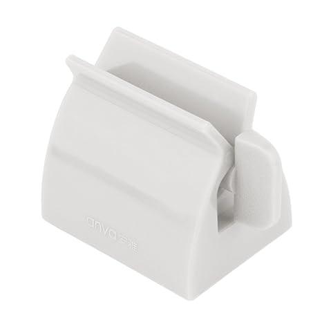 VANKER 2 en 1 Exprimidor de Tubo de Pasta de Accesorios de baño Titular de Cepillo