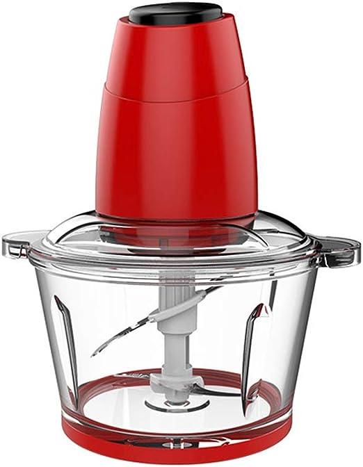 Homeasy - Picadora eléctrica multifunción con cuenco de acero inoxidable, 350 W, mini robot de cocina para fruta, verdura, carne, especias, etc.: Amazon.es: Hogar