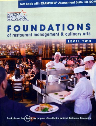Test Book with Examview Asessment Suite CD for Foundations of Restaurant Management & Culinary Arts Level 2