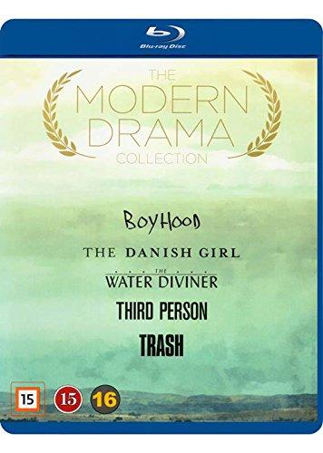 Modern Drama Collection 5-Disc Set ( Boyhood / The Danish Girl / The Water Diviner / Third Person / Trash ) [ Blu-Ray, Reg.A/B/C Import - Denmark ]