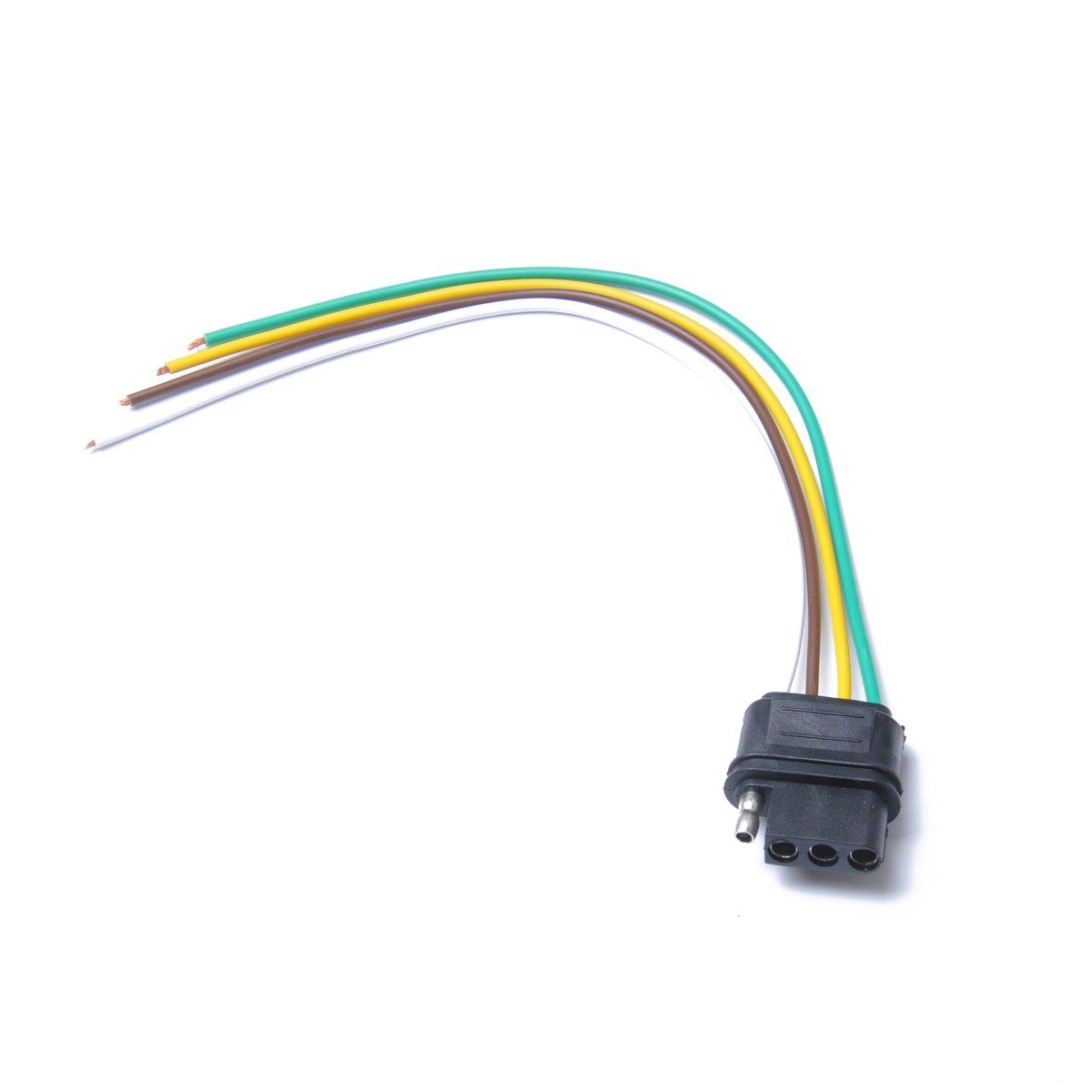 Awe Inspiring Amazon Com Winomo 4 Way Flat Trailer Wire Harness Extension Hitch Wiring 101 Archstreekradiomeanderfmnl