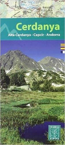 Cerdanya, mapa excursionista. Escala 1:25.000. Español, Català ...