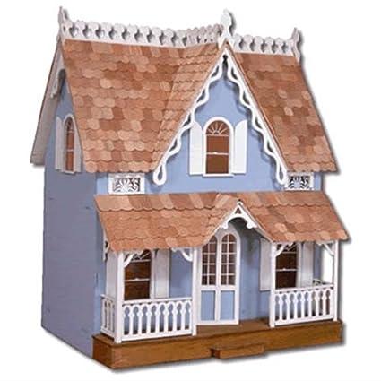 Amazon Com Greenleaf The Arthur Wooden Dollhouse Kit Victorian