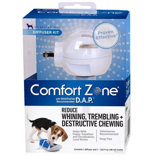 Comfort Zone with DAP for Dogs Diffuser and Single Refill (Discontinued by Manufacturer)