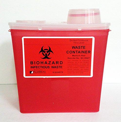 8 qt sharps container - 7