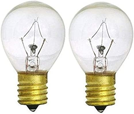 25 Watts S11 Replacement Light Bulb For Lava Lamp 25s11 Incandescent For 14 5 Inch Lava Lamps And Glitter Lamps Fits Intermediate E17 Socket 130 Volts
