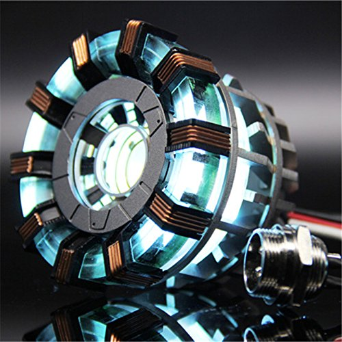 1:1 DIY Arc Reactor Heart Model MARK 2 with LED Action Figure Toy Boyfriend Gift,his gift,Need to Assemble