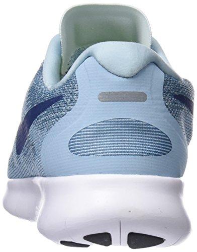 Blue Femme Chaussures 2017 de Bliss Ocean Glacier NIKE Navy Running Free 405 WMNS Bleu RN qwOHOT