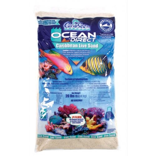 Ocean Direct Natural Live Sand by Carib Sea