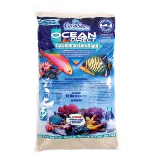 White Marine Sand (Ocean Direct Natural Live Sand)