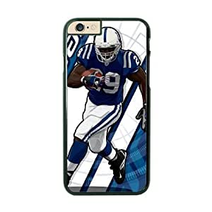 NFL iPhone 6 Black Cell Phone Case Indianapolis Colts QNXTWKHE1993 NFL Phone Cases Protective Personalized