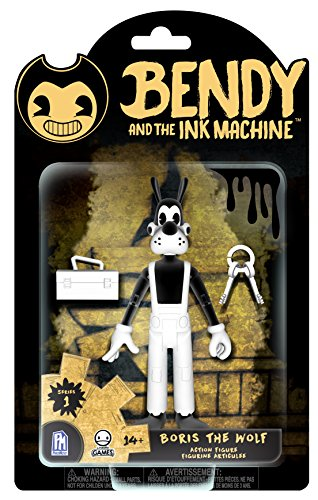 Boris The Wolf Action Figure (Bendy From Bendy And The Ink Machine)