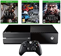 Microsoft XBOX ONE 1 TB Console with 3 Games, Ryse Son of Rome + The Crew + Lords of the Fallen, Matte Black (Certified Refurbished)