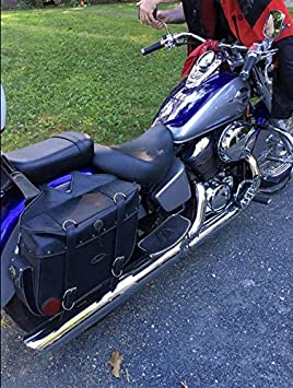 HONDA STEED VLX400 VT600 1992-2007 Footboard Front//Rear foot pegs Logas Motorcycle Floorboards Fit for HONDA SHADOW VT400 VT750 1997-2003