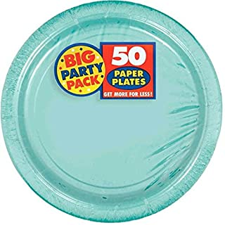 Amscan Robin's Egg Blue Paper Plate Big Party Pack, 50 Ct. (B00BFX7V2Q) | Amazon price tracker / tracking, Amazon price history charts, Amazon price watches, Amazon price drop alerts