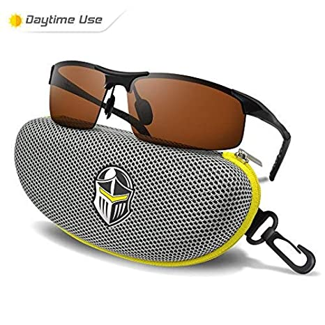 334b67f188 Image Unavailable. Image not available for. Color  BLUPOND Polarized Sports  Sunglasses for Men ...