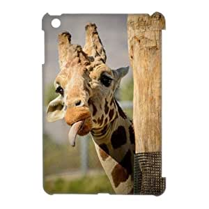 3D Case Of Giraffe 3D Bumper Plastic Customized Case For iPad Mini