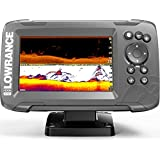 Lowrance HOOK2 5 - 5-inch Fish Finder with SplitShot Transducer and US Inland Lake Maps Installed