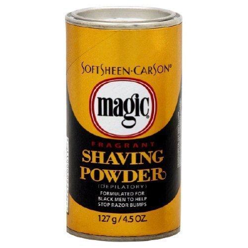 Magic Shave Shaving Powder Gold-5 oz, 3 pk - Magic Shave Shaving Powder