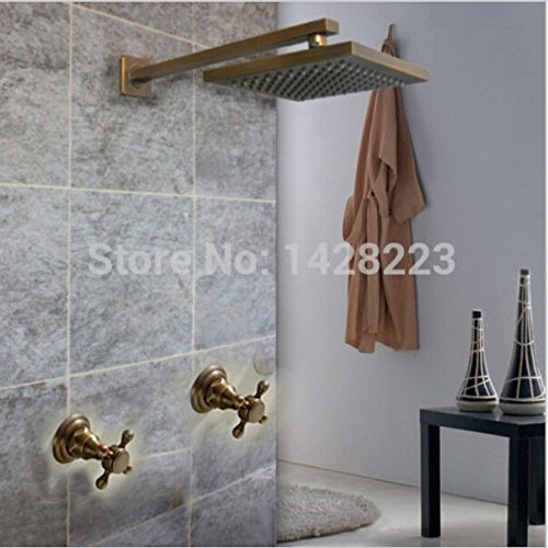 Style 2 Maifeini Modern Antique Brass Shower Faucet Bathroom Shower Hot And Cold Shower, Style 1