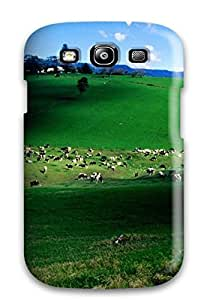 For Galaxy S3 Tpu Phone Case Cover(landscape Nature )