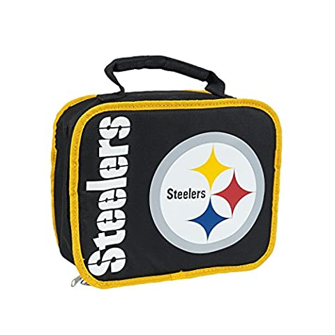 NFL Pittsburgh Steelers Sacked Lunch Cooler - Pittsburgh Steelers Logo Nylon