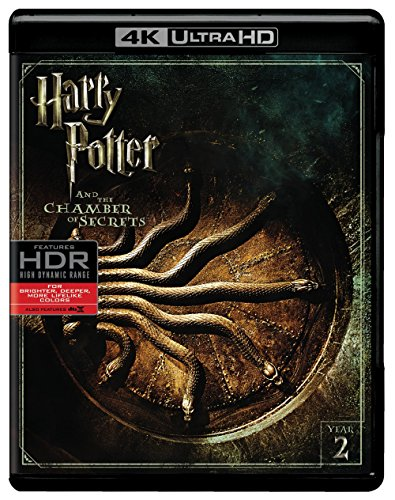 Harry Potter and the Chamber of Secrets (Ultra HD/BD) [Blu-ray] (Harry Potter Collection 8pk 4k Ultra Hd Digital)