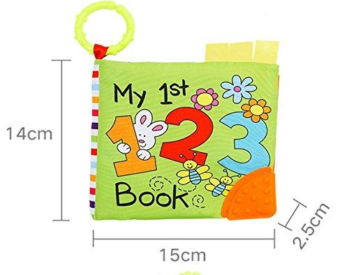 Infantile de Livre de Livre de Tissu de b/éb/é de Livre de b/éb/é YOIL Jouets B/éb/é Lit B/éb/é Livre Multifonctionnel de b/éb/é