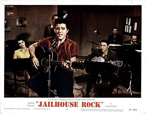- Posterazzi Jailhouse Rock from Left Judy Tyler Elvis Presley 1957 Movie Masterprint Poster Print, (14 x 11)