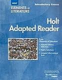 Elemental Literature - Elements of Literature, Holt, Rinehart and Winston Staff, 0030357098